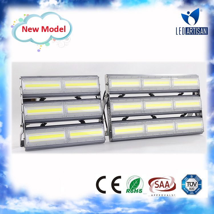 Most competitive price with new design 60000 lumen 400w led floodlight with high efficiency heat sink design