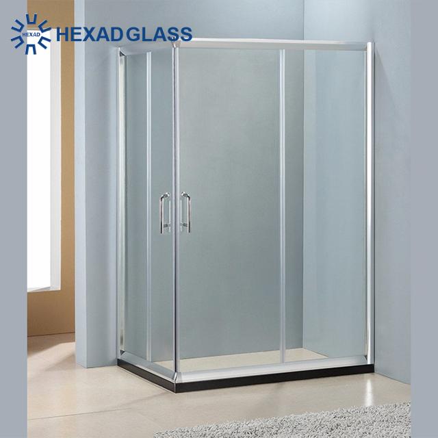 8 10mm Tempered Bathroom Shower Gl