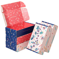 Custom Colorful Printed Corrugated Packaging Postal Recycled Mailing Postage Box