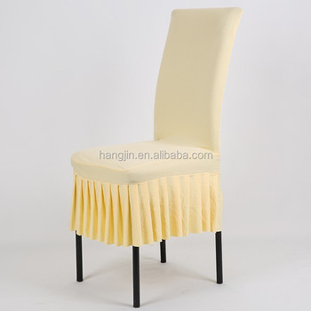 Cheap Folding Pleated Chair Cover Meeting Room Use Lycra Dining Hall