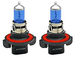 06 07 08 09 10 Ford Explorer 2pc 12v 100w h13 Xenon Gas Super White High/low Beam Light Bulbs 5000k 1pair