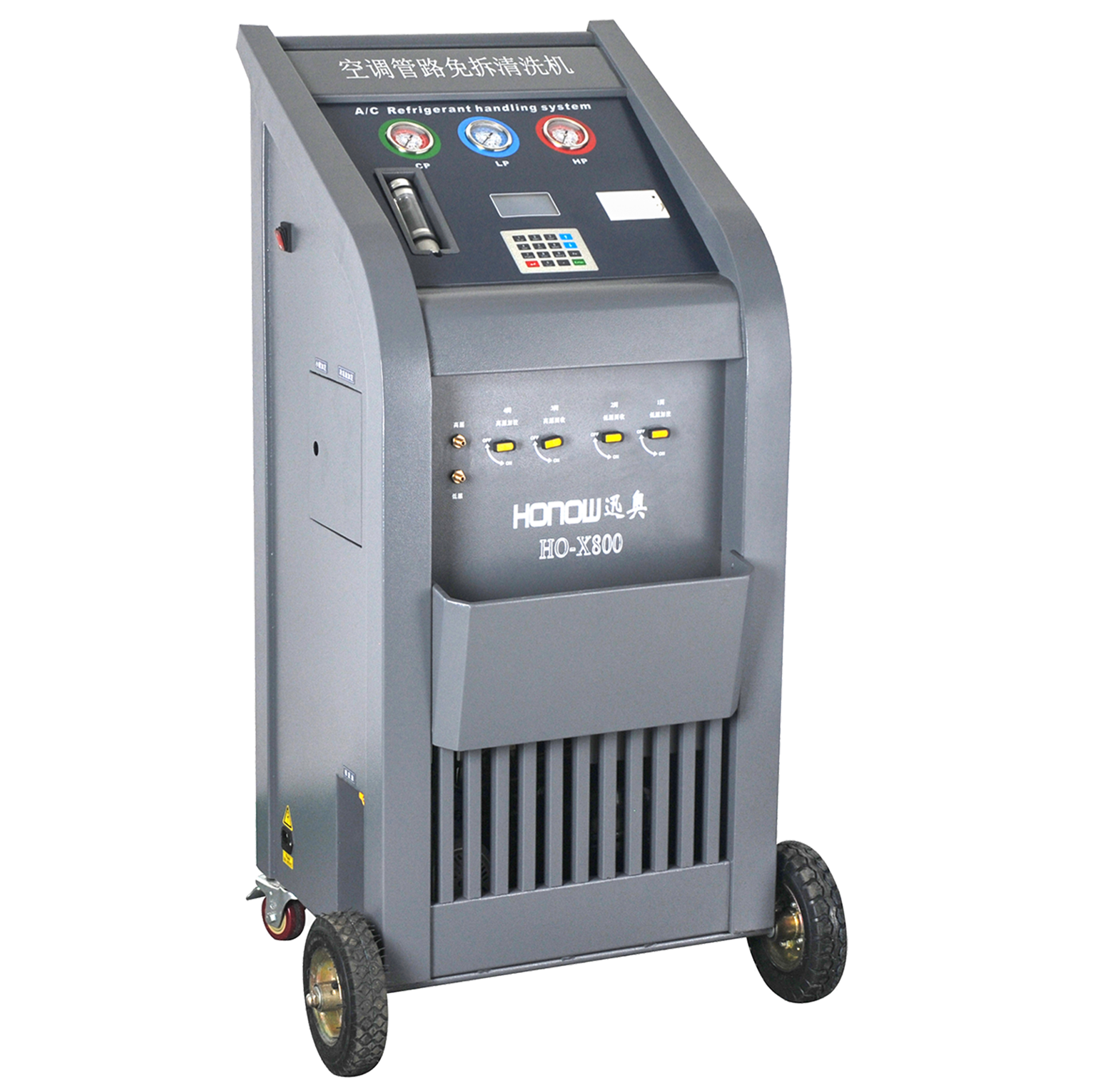 Fully Automatic Car Ac System Flush And Clean Machine & Refrigerant Recycle  Recovery Vacuum And Recharge Machine R134a - Buy A/c Recharge And Recovery