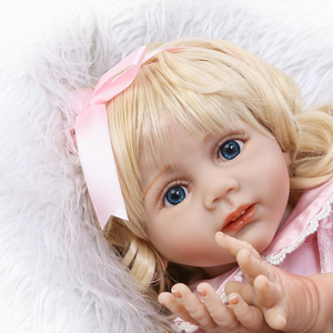 import newborn silicone lifelike girls toys reborn baby dolls from china
