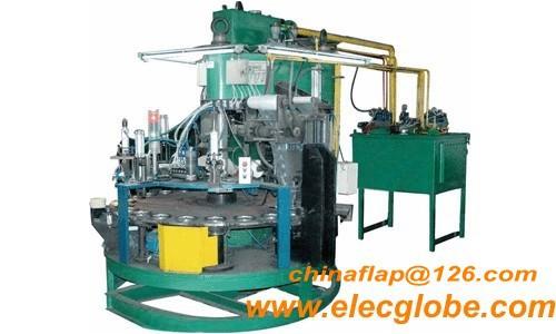 Flap Cutting Machine For Cut Coated Abrassive,Cutting Wheel Making ...