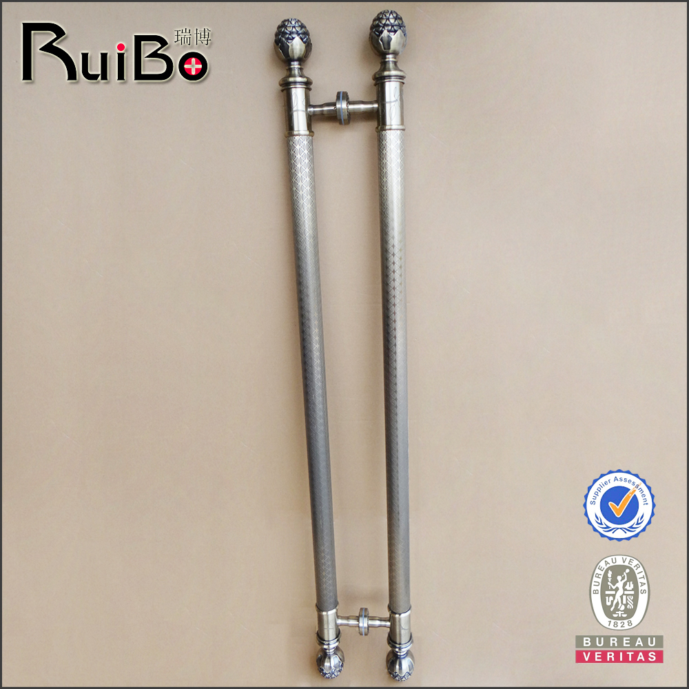 Rb-2055 Stainless Steel Antique Brass Luxury Long Door Handles - Buy ...