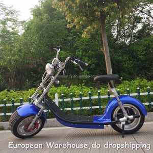 European Warehouse Retail Online Sale New Classic Electro Electronic Motorbike Chopper Electric 1500W 60V 20AH.
