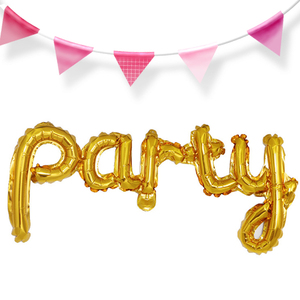 Buying Siamese Happy Siamese letters foil balloons birthday parties wedding rooms balloons wholesale