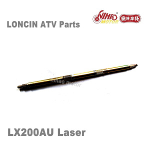 180 LONCIN ATV Parts Rear wheel shaft axel LX200AU LX200M Quad Spare engine 250cc 200cc parts Nihao Motor LX250F Laser