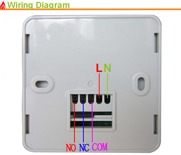 Programable Central Heating Wireless Boiler Heating Touch