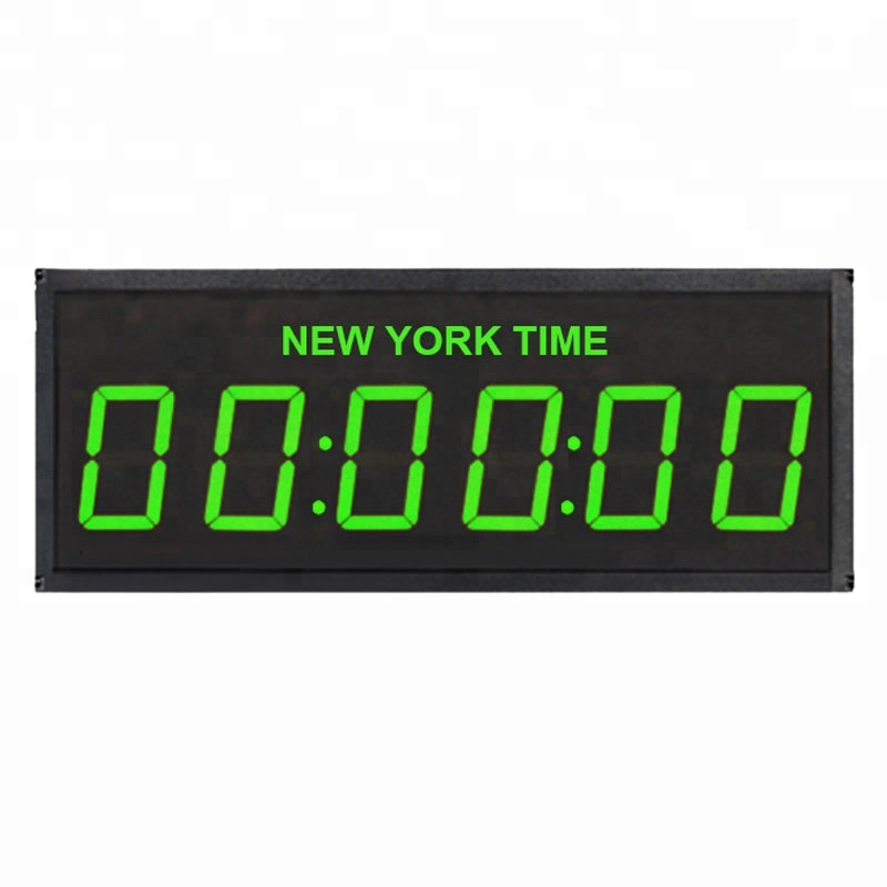High Brightness Digital Led 4 Digit 6 Digit Display Remote First Time Clock