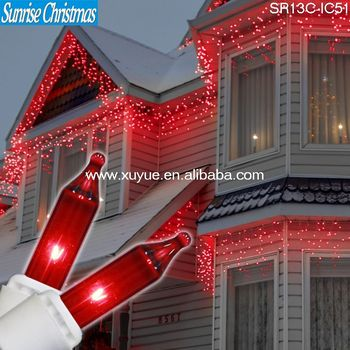 led christmas icicle lightled falling icicle lightled dripping icicle light