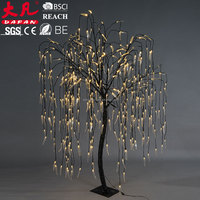 Led Artificial Weeping Lighting Landscape Fake Willow Tree