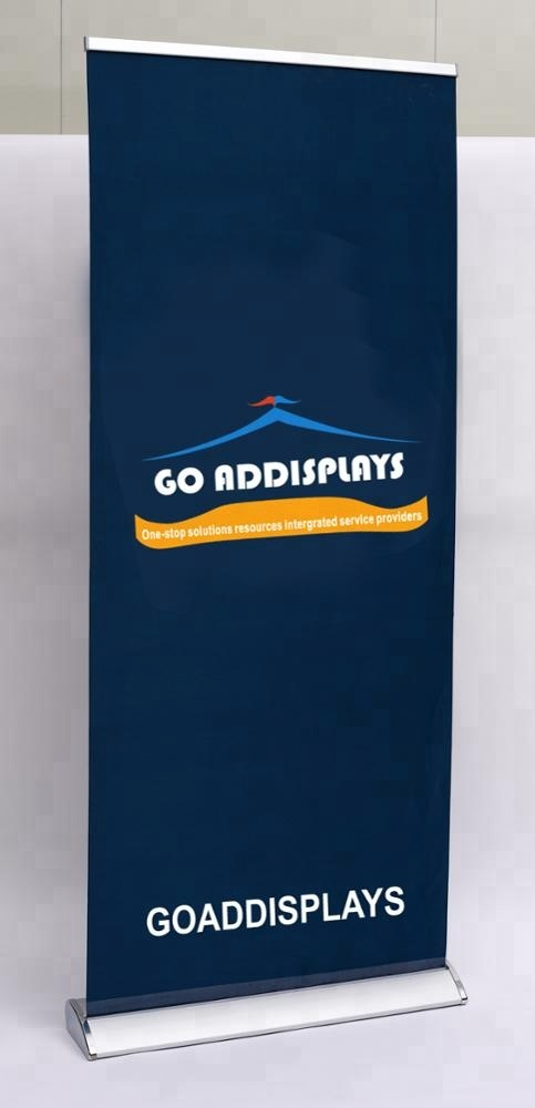 Advertising stand 80x200cm/85x200cm teardrop roller up banner display