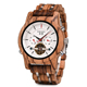 BOBO BIRD Newest Luxury Wristwatch Automatic Wood Watches Men with Shanghai movement