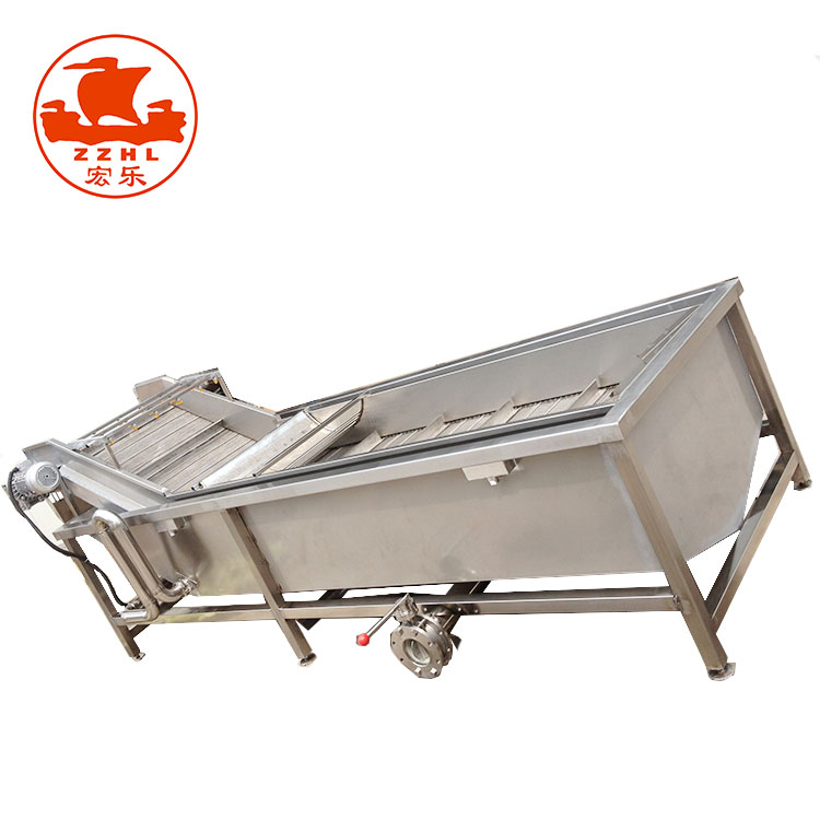High Efficiency chicken feet Potato Chips Vegetable Blanching Machine