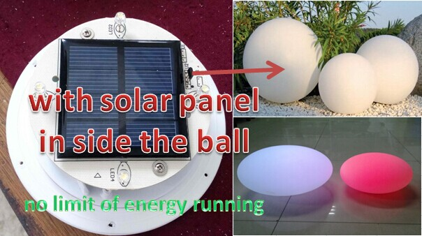 High Quality Solar Light Balls Solar Powered Decoration Garden Ball Light,plastic Solar  Ball,white Solar