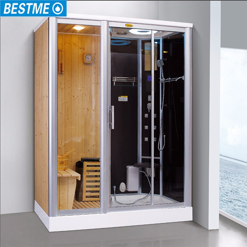 Shower Sauna House Luxury Steam Room Infrared Combination Home Indoor And Combined