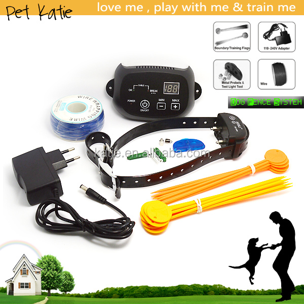 Professional Pet Dog Training Electric Security Fence System with Shock E Collar