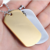Wholesale Metal Blank Dog Tag with Ball Chain hot sale military dog tag ID factory