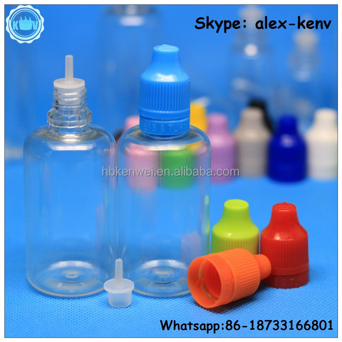 Philippines 50ml PET e-liquid plastic bottles for E-cig vaping