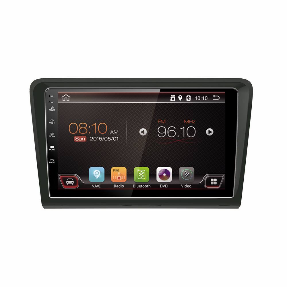 9 inch Car Radio With Reversing Camera and Blueeoth and Mobile Phone Network for VW Bora