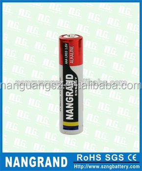 Excellent 1.5v aaa am4 lr03 alkaline battery