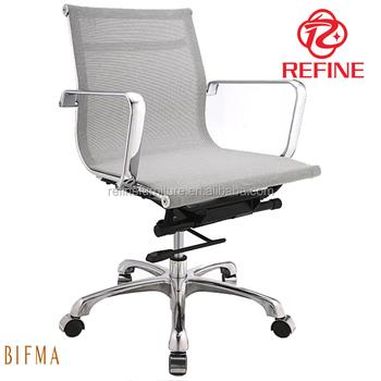 Heavy Duty Swivel Mesh Executive Office Chair With Medium Back Rf S084c
