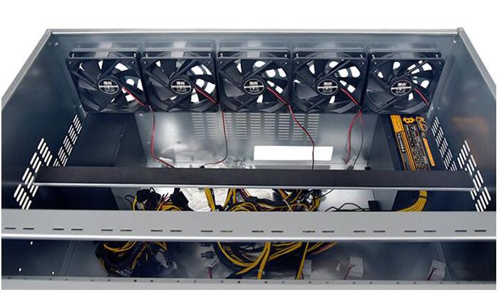 Support 12gpu Mining Rig Ethereum Oem 7 5u Customized Mining Case Storage  Server Chassis - Buy 12gpu Mining Rig Ethereum,Mining Rig Ethereum,12gpu