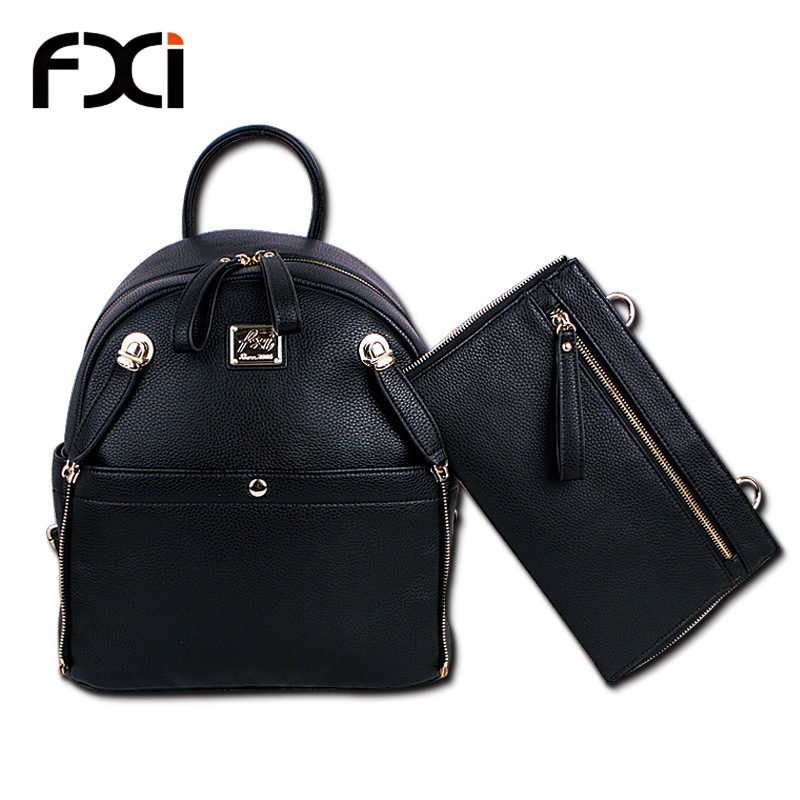 Buy 2015 fashion women school bag vintage black backpacks for ...