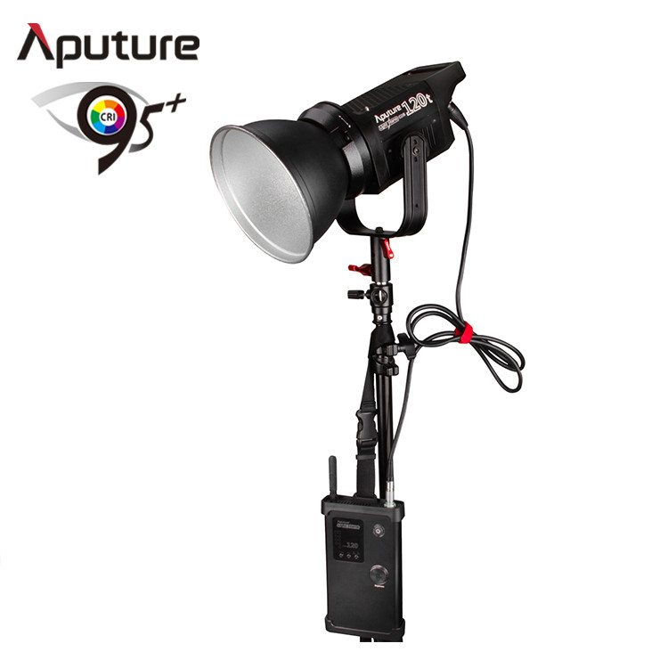 Aputure LS COB 120t TLCI97 Wireless Remote Control LED Video Tungsten Light with Handy Case