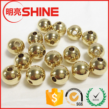 metal beads Jewelry Findings round Shape 5mm 6mm 8mm 14k gold metal bead wholesale