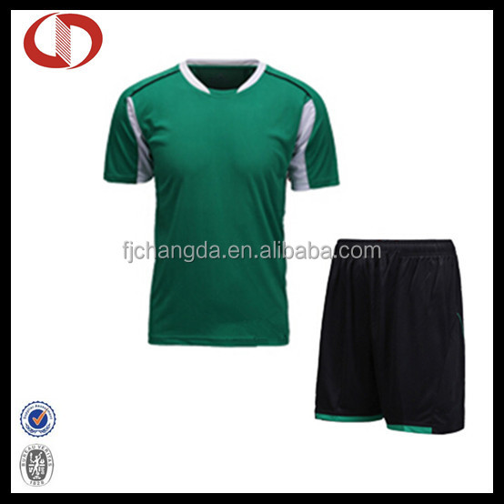 Cannda bulk plus size soccer jerseys uniforms made in jinjiang