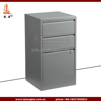 Decorate Office Steel Furniture 3 Drawer Metal Parts File Cabinet