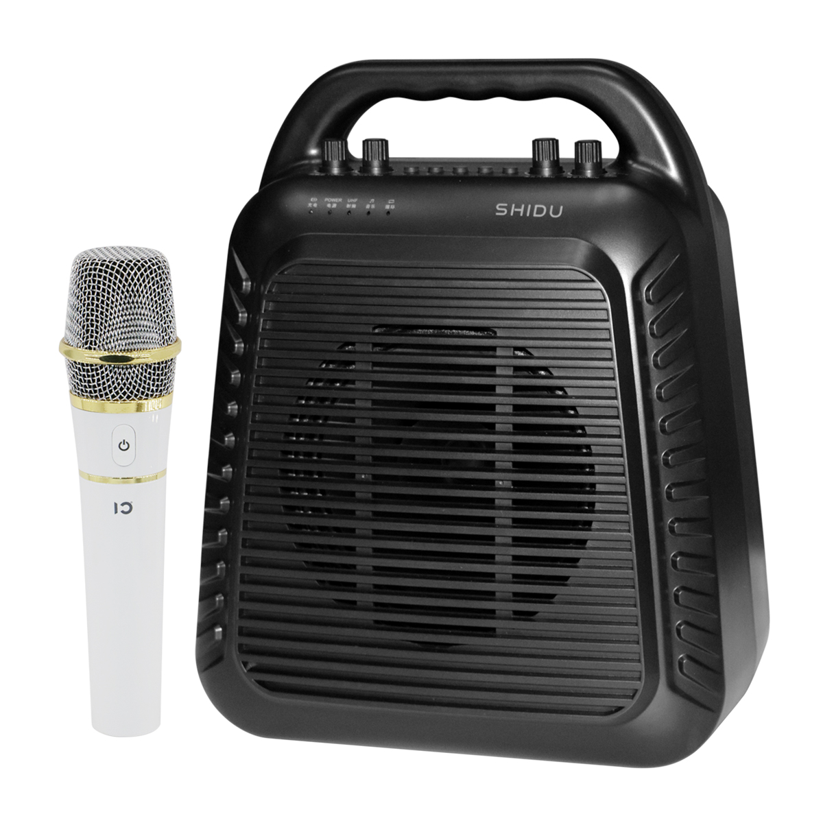 shidu new technology portable MP3 voice amplifier with uhf wireless megaphones S90