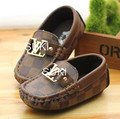 Free Shipping Hot Sale Children Baby Boys Kids Casual Leather Shoes Fashion Child Flat Moccasins Stitching