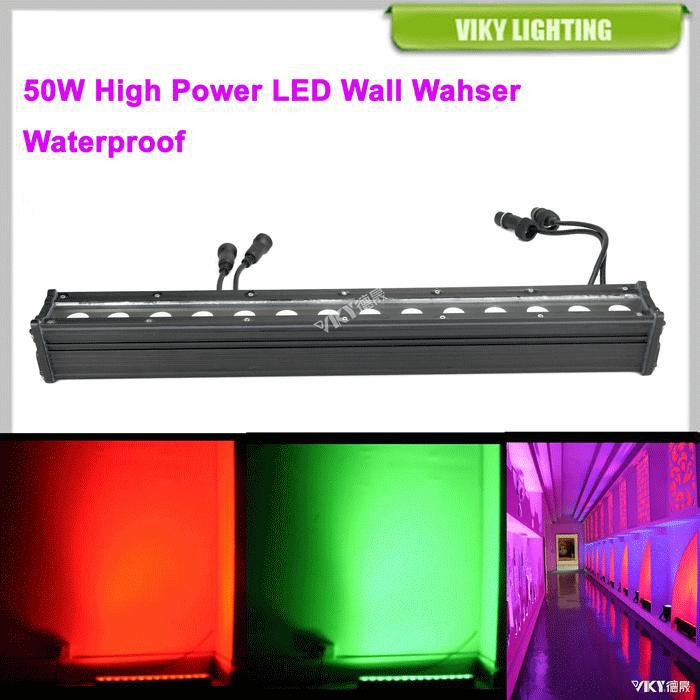 Led Flood Light / Rgb Linear Bar Wall Washer Led Fixture Outdoor ...