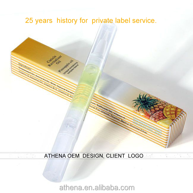Private label Cuticle Oil& Nail Oil Pen