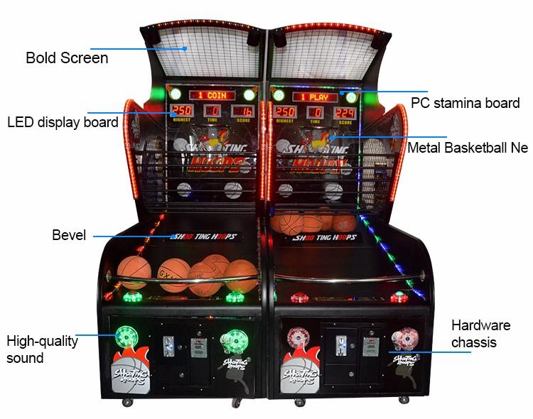 Qingfeng Electronic Bingo Basketball Machine Sonic Sports ...