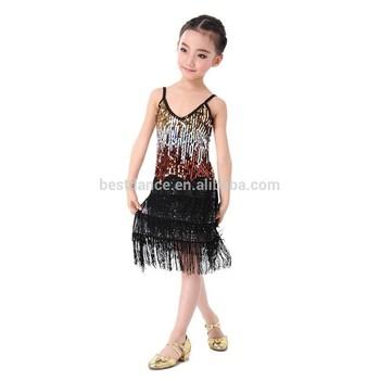 Bestdance Sexy Child Girls Christmas Dance Red Costumes Kids Ballroom Smooth Latin Tango Tassels Sequin Dance Dress Costume Oem Buy Kids Latin Belly