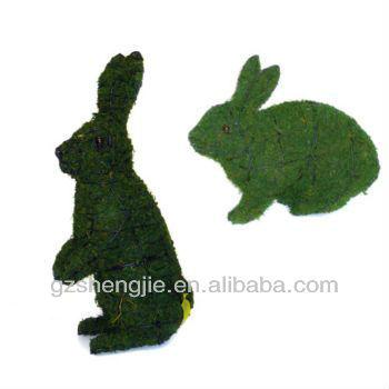 Guangzhou Sj Artificial Topiary Rabbit Animals - Buy Artificial ...