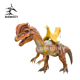 DSAR0002 Attractive dinosaur car Dilophosaurus ride remote control coin operated in amusement and theme park