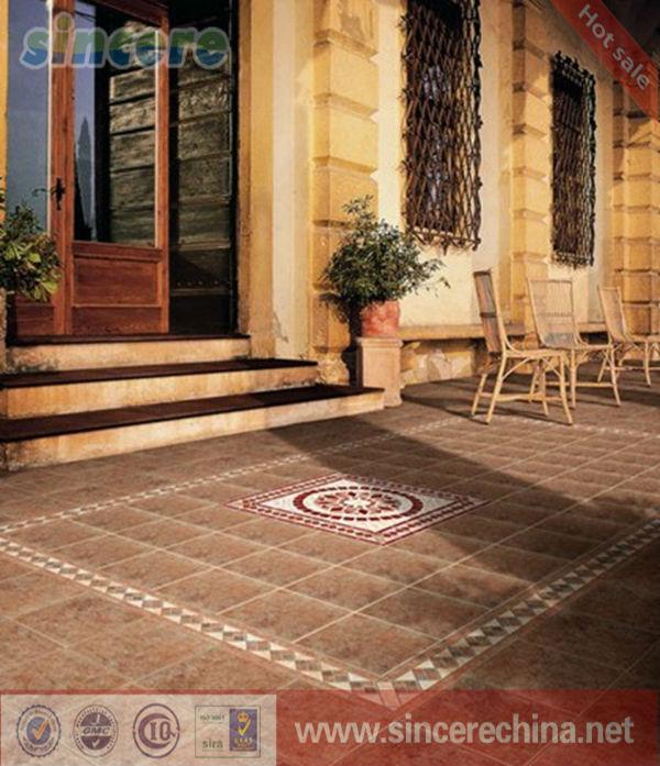 Spanish Floor Tile Matte Finish Ceramic Tiles Outdoor