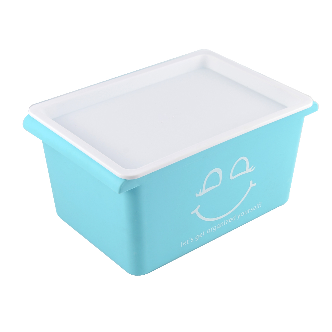 Storing clothes in plastic containers