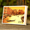 Eco friendly products wholesale handmade decoration greeting card gloss paper hologram postcard