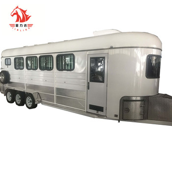 4HAL-L,4 horse cavaran float with living area