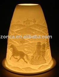 Lithophane Lighted Christmas Candles Bc015 06011 Buy