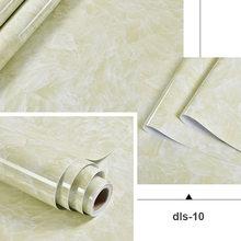 0,4x3 м самоклеющиеся обои для дома, кухни, маслостойкие наклейки, виниловые водонепроницаемые наклейки на подоконник, мебель, стол, Мраморная...(Китай)