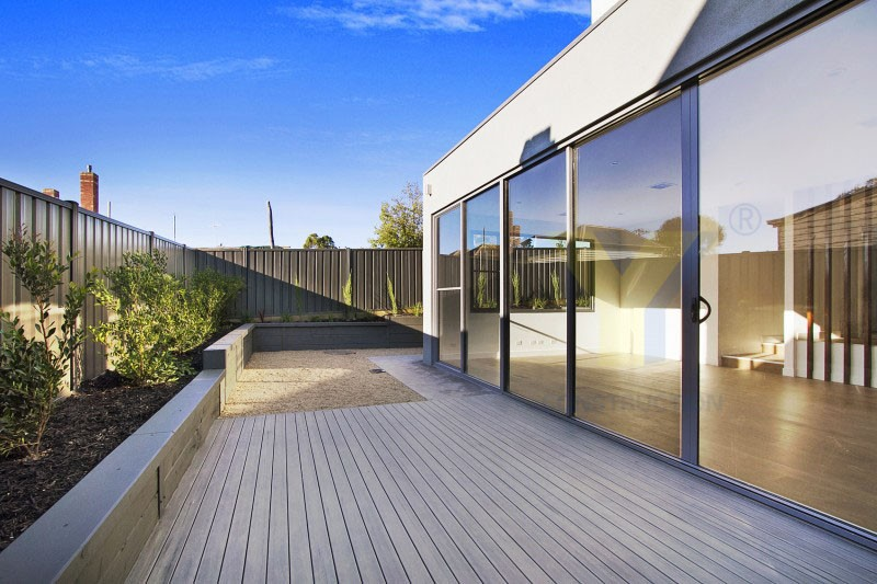 Three panel sliding glass door 48 inches exterior doors for Three panel sliding glass door