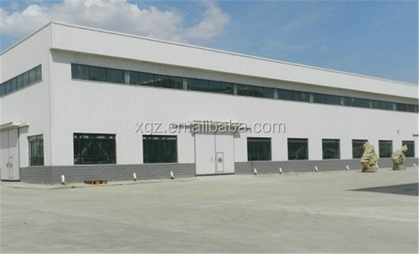 rockwool sandwich panel well welded brazil steel structure workshop factory