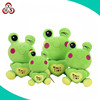 OEM/ODM stuffed animal kids toys plush frog wholesale